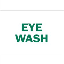 Eye Wash Signs