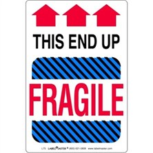 Fragile This End Up Labels
