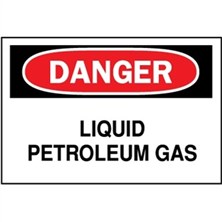Danger, Liquid Petroleum Gas