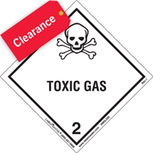 Hazard Class Labels Clearance