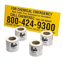 CHEMTREC Labels & Markings