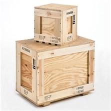 Wooden Crates for Lithium Batteries