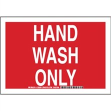 Hand Wash Only Signs