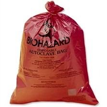 Biohazard Disposal Bags, Super-Strength