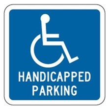 Handicap Parking W/Symbol