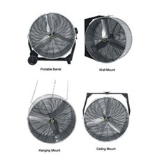 Fans with Mounting Options
