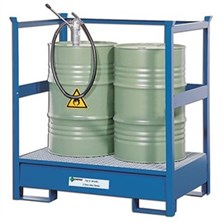 Enpac Steel Spill Drum Stackers