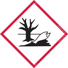 GHS Environment Pictogram Tank Placards