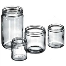 Flint Straight Sided Jars