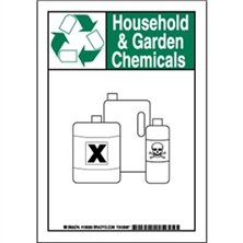 Household And Garden Chemicals Signs