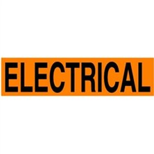 Electrical Operations Labels