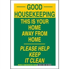 Good Housekeeping This Is Your Home Away From Home Please Keep It Clean Signs