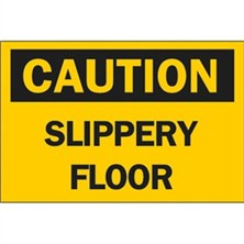 Caution, Slippery Floor