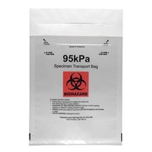 Infectious Substance - Biohazard 95 KPA Pressure Bags