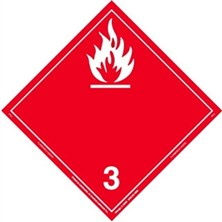 Flammable Liquid Wordless Placards