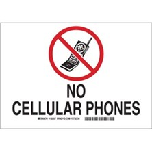 No Cellular Phones (With  Picto) Signs