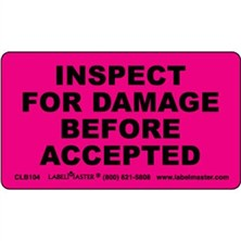 Inspect For Damage