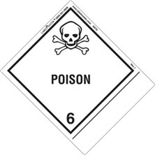 Blank Shipping Name Poison Labels