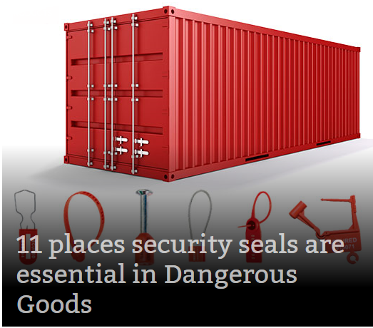 Compliant Shipping Container Security Seals - Indicative