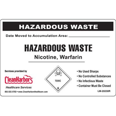 Clean Harbors Custom Utility Labels