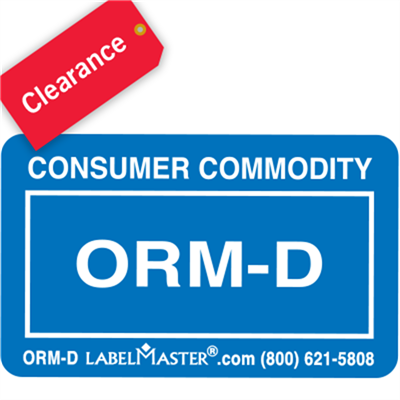 ORM-D Consumer Commodity Labels