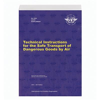 Supplement To The Technical Instructions For The Safe Transport Of
