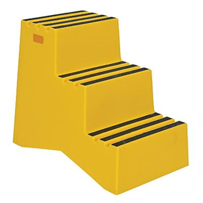 Industrial Polyethylene Step Stool 3 Step 29 Quot Height