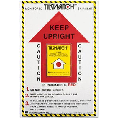Tiltwatch Damage Indicator Instruction Label Roll Of 200 Labelmaster