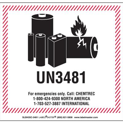 CHEMTREC Labels and Markings
